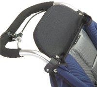 Advance Mobility (Baby Jogger) Highback Head Rest - click for larger image