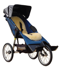 Baby Jogger Independence MAX for the slim lightweight older child or young adult - click for more information
