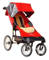 Advance Mobility (Baby Jogger) Liberty with Lambskin Comfort Liner, for the older child from 5 to 10 years - click for larger image