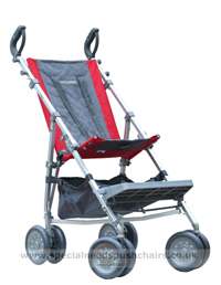 Maclaren Major Elite with Shopping Basket - click for larger image