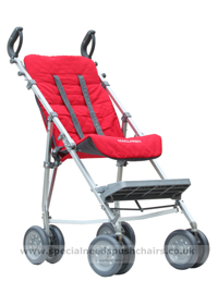 Maclaren Major Elite with Reversible Seat Liner (Charcoal side) - click for larger image