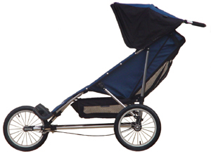 Advance Mobility (Baby Jogger) Freedom, seat reclined - click for larger image